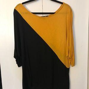 Black/Yellow Shirt